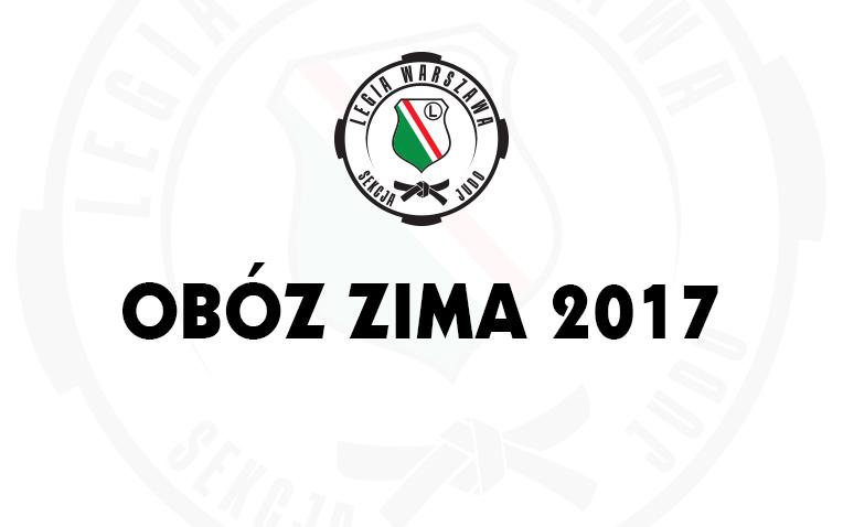 Zimowy obóz judo Judo Legia Warszawa - Zakopane 2017